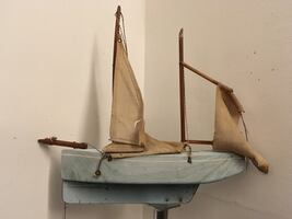 Antique toy boat...