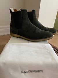 Common Projects Chelsea Boot - Black Suede - Size 43 Toronto, M6J 2K5