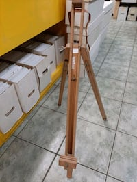 Easel for painting, wood, vintage $18