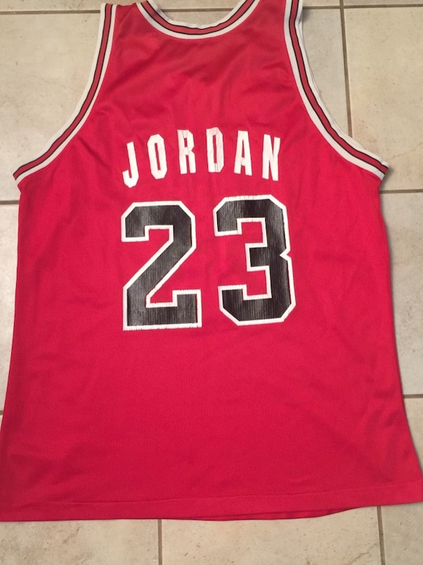 450bfeae9713b4 Used Authentic vintage Michael Jordan jersey for sale in Coquitlam ...