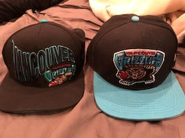 NBA Vancouver Grizzlies snap back hats