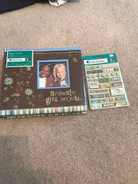 Girl Scout Scrapbook Midway