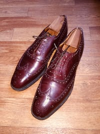 CHURCH'S • RICHELIEU • Mahogany Leather Shoes Silver Spring, 20903