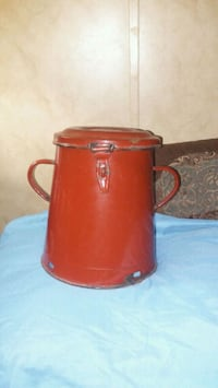 Vintage Enameled Container