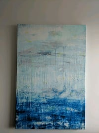 Blue abstract painting Mississauga, L4Z 0A3