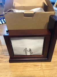 Picture frame bookends
