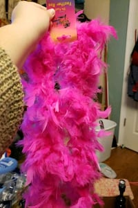 Pink Faux Feather Boa Gaithersburg