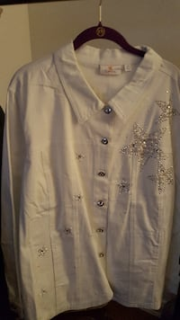 Quacker Factory Shirt Jacket – Size 2X – New Never Worn Baltimore