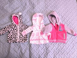 3x  3-6 month  baby  winter jackets, new condition