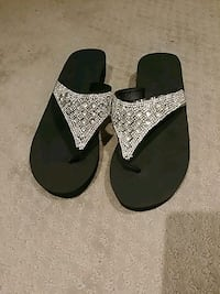 Jeweled Sandals (size 7)