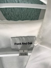 Frank and Oak blouse new