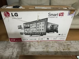 LG 119 ekran smart 3 boyutlu Led tv