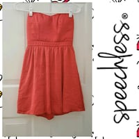 Red Spechless Sweetheart Dress - Juniors Size 3 Hagerstown, 21740