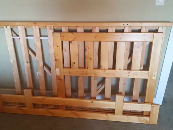 Twin bed frame good condition