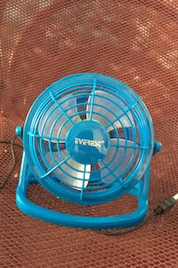 Everest  Plastik Mavi Usb Fan