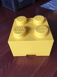 LEGO storage box - yellow Crofton, 21114