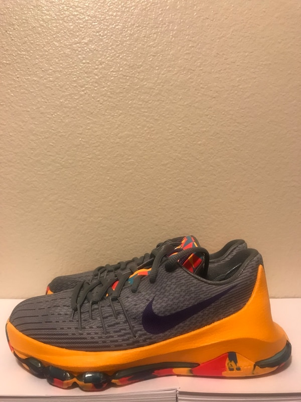 "low priced a57d2 2b7bb Used Nike KD 8 ""Wolf Grey Cool Grey Blue Lagoon Court Purple"" (New) for  sale in Cerritos - letgo"