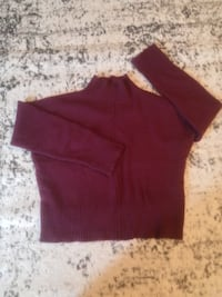 red turtleneck sweater Saint Peters, 63376