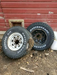 Super duty rims and tires Thomaston