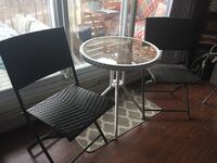 Outdoor table and chairs outside  Edmonton, T5C 3E4