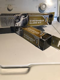 2 Windshield glare kit  brand new never opened or used