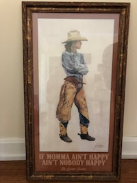 """Signed """"if mama ain't happy ain't nobody happy"""" Hendersonville, 37075"""