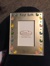 Baby first bath picture frame Baltimore, 21223