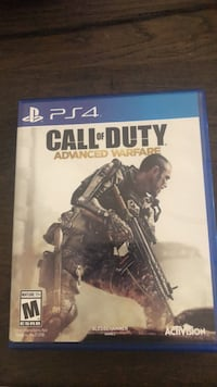 Call of duty advanced warfare ps4 game case Guelph, N1E 0L7