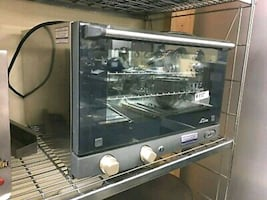 Half Size Commercial Electric Convection Oven by Cadco Lisa