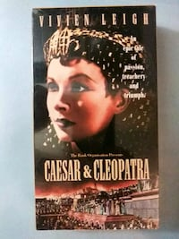 Ceaser and Cleopatra vhs