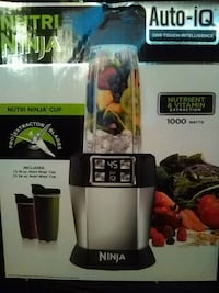 Nutri Ninja Auto-iQ one touch intelligence  Compton, 90222
