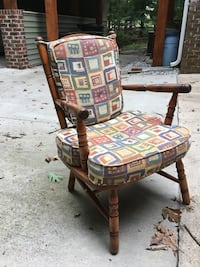 PAIR of armchairs  from 40's newer cushions Greenville, 29609