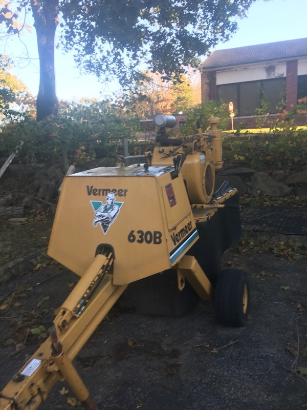 Vermeer Stump Grinder For Sale >> Used Vermeer 630b Stump Grinder Low Hours For Sale In Trumbull Letgo