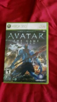 Avatar Game for Xbox 360 Sault Ste. Marie, P6C 5T6