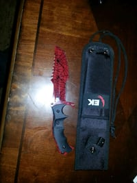 Huntsman Knife Crimson Web (Comes with sheath) Calgary, T3K 3R8