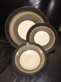 Ceramic Dinnerware Dish Set for 8 (plates & bowls) Arlington, 22201