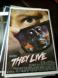 They Live Poster  Bunker Hill, 25413