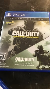 Call of Duty Infinite Warfare PS4 game case Bonita, 91902