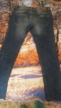 Jeans in denim blu Firenze, 50123