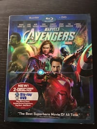 Marvel Avengers Age of Ultron Blu-ray case Los Angeles, 90041