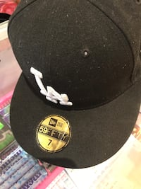 black and white New Era 59Fifty cap Los Angeles, 90731