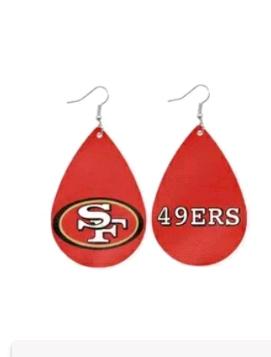 Photo 49ers Football EARRINGS new