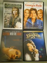 4 DVD Movies with Strong Female Leads West Springfield
