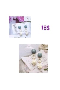 earings/jewelry/boucle d'oreille Montreal, H3G