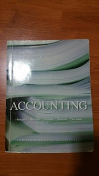 Accounting Volume 2 textbook