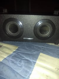 black and gray subwoofer speaker OWENSBORO