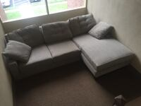 Two piece sectional couch Arlington