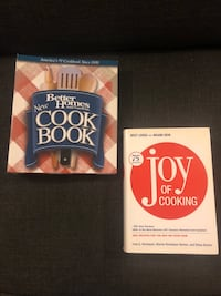 Cookbooks. Like new