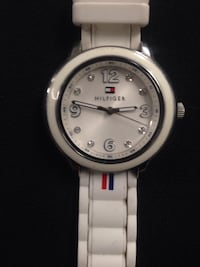White Hilfiger Diamond Watch Edmonton, T5L 1X1