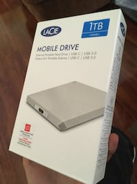 SEALED LACIE MOBILE HARD DRIVE
